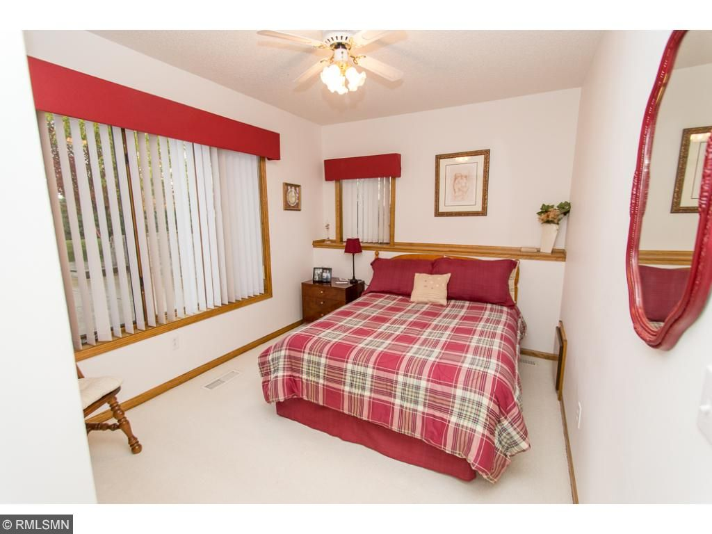 Two bedrooms in lower level.