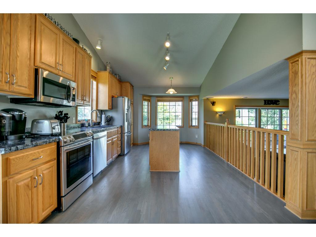 Open floor plan w/large Anderson windows allowing for plenty of natural light.