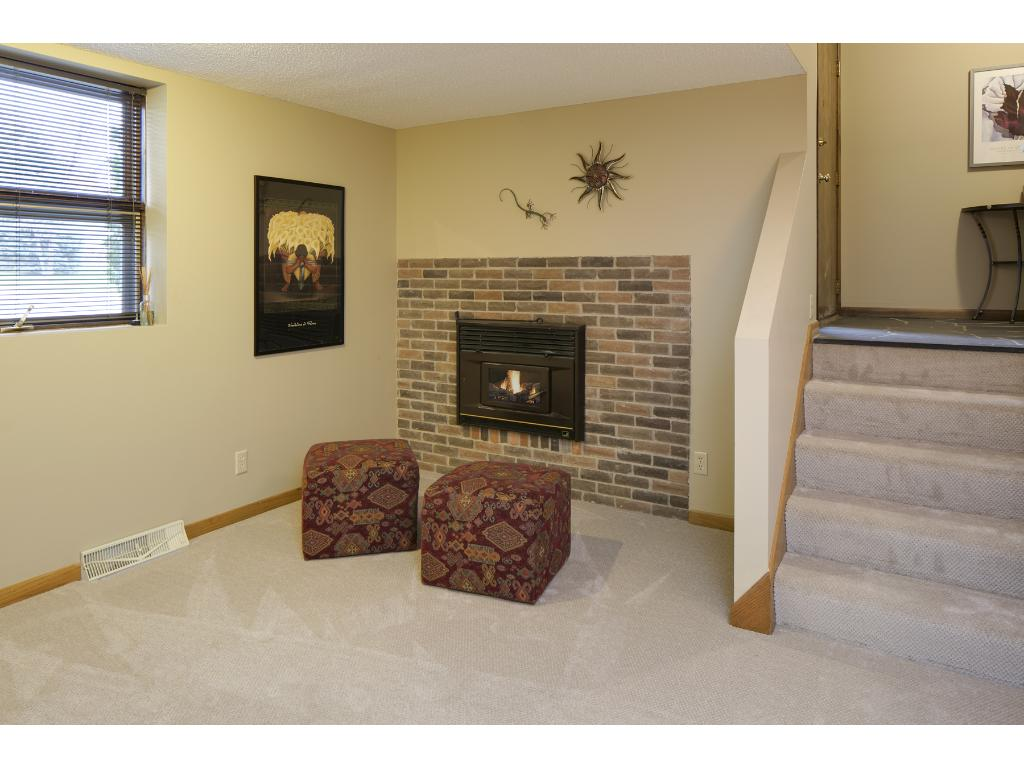 3/4 bath in lower level. Lovely tile work on both walls and floors.