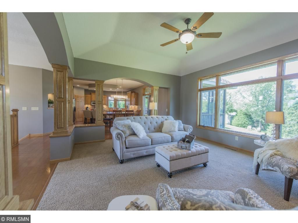 Well planned open floor plan. Private, spacious, and very well done. This home is simply a must see.