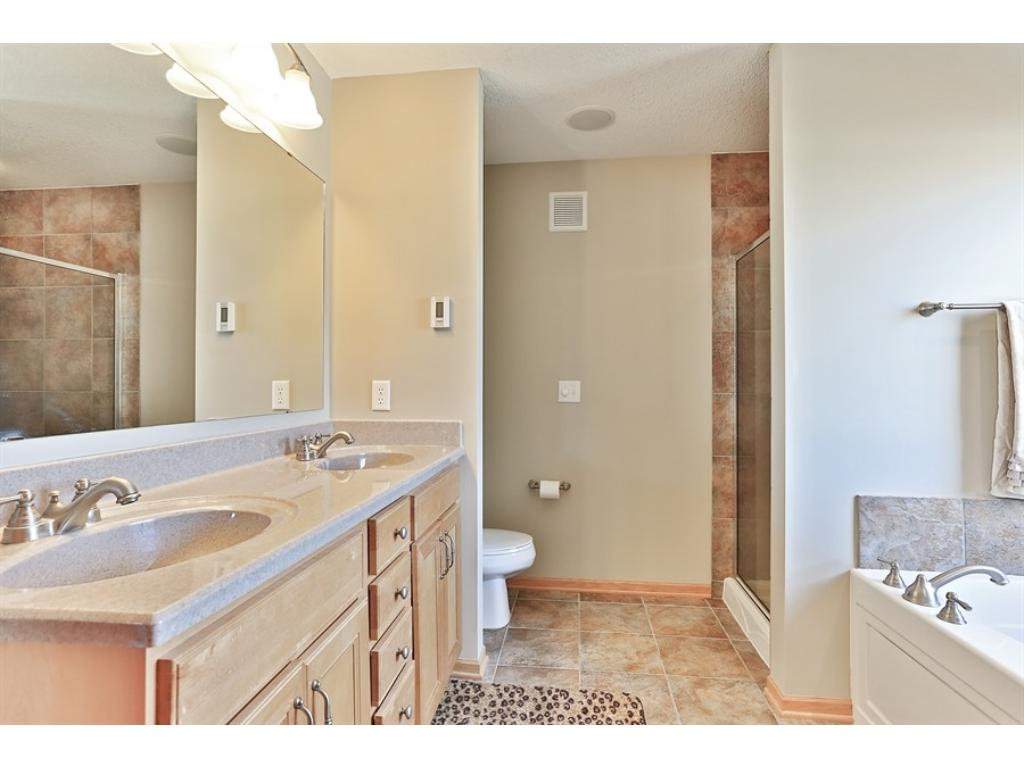 Gorgeous private master bath!