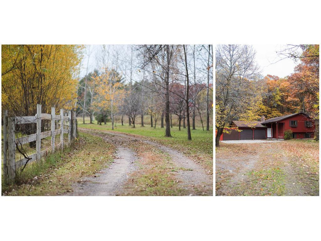 Welcome to serenity! secluded home sits off the road giving it a real country feel.