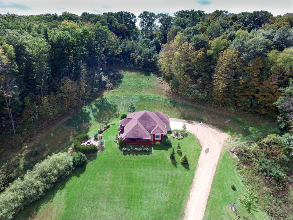 2005 custom built home on 80 acres. 90 minutes from Twin Cities