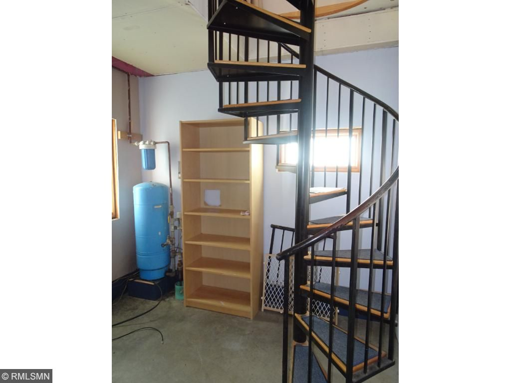 garage stair case