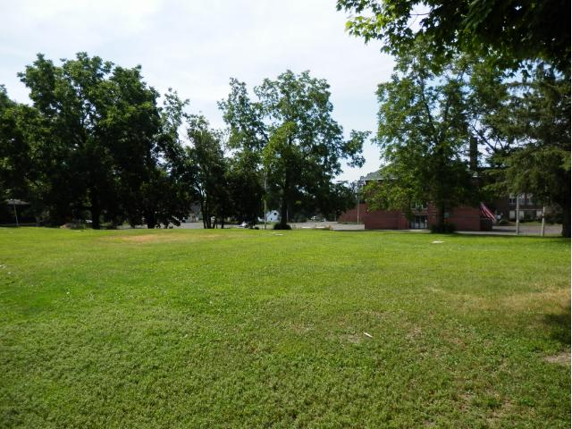 Vacant City lot- Ready for a new home or business.