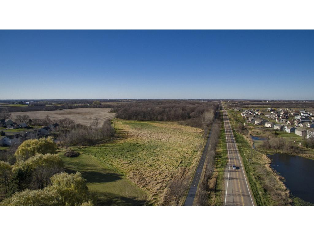 Dakota Regional Trail runs adjacent to the property, along Cty Rd. 30
