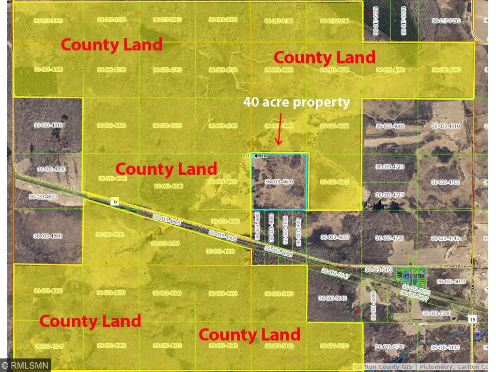 THIS PROPERTY IS SURROUNDED BY OVER 1,400 ACRES OF COUNTY LAND!!! SOME OF THE COUNTY LAND CAN ONLY BE ACCESSED THROUGH THIS PROPERTY.