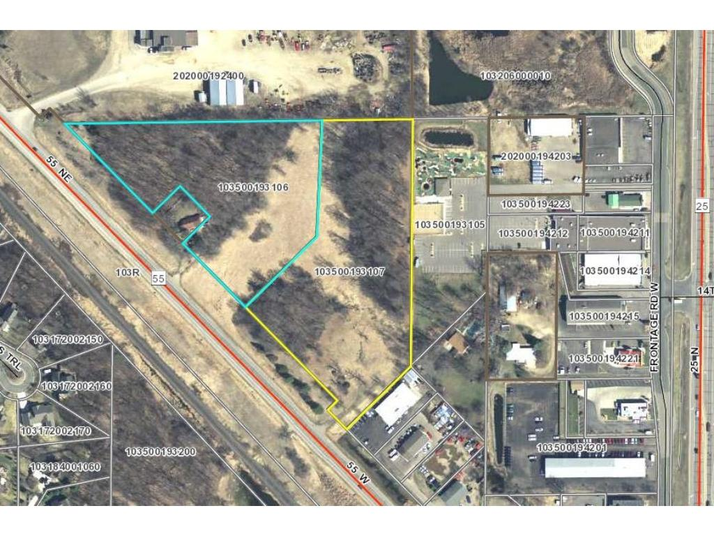 Additional adjacent parcel 103-500-193107 4.93 ac also available