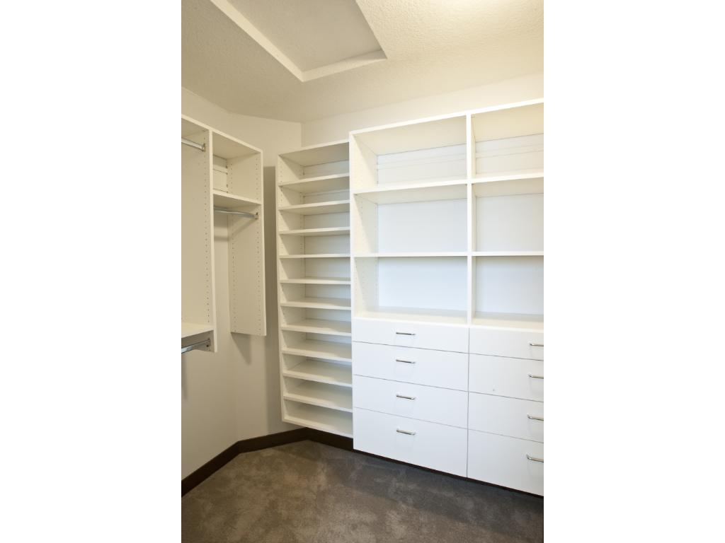 Built-Ins in Master Closet