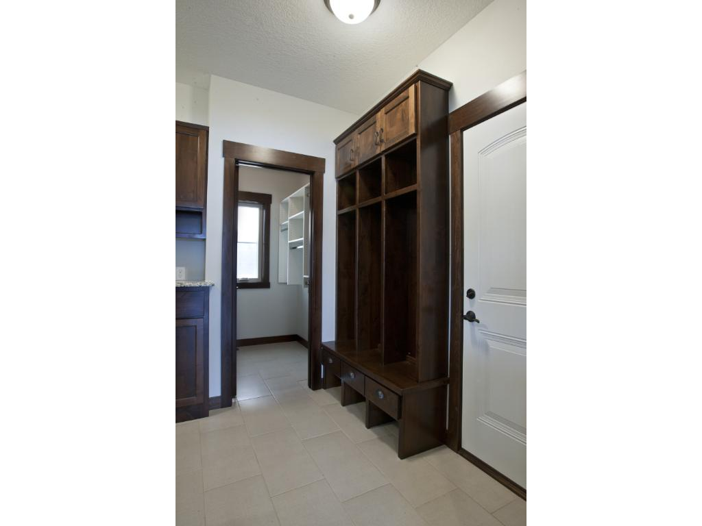 Muddroom with Built In Lockers