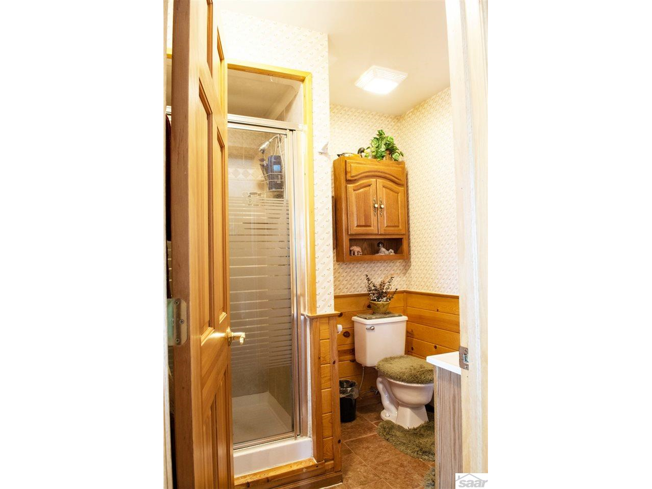 One of four bathrooms in this home. 11683 E. Point Rd., Lake Nebagamon, WI