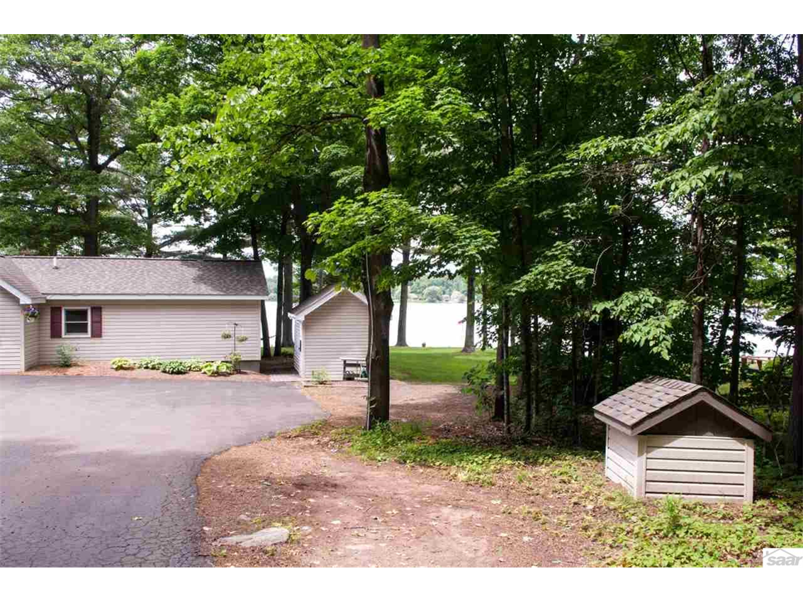 Great tree coverage for privacy. 11683 E. Point Rd., Lake Nebagamon, WI