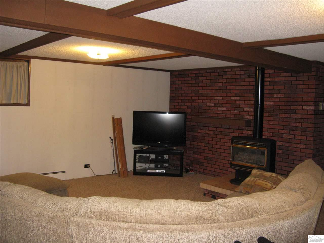 A great room to enjoy family and friends....or to hide away and watch your favorite movies.