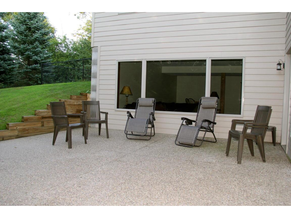 Patio in back