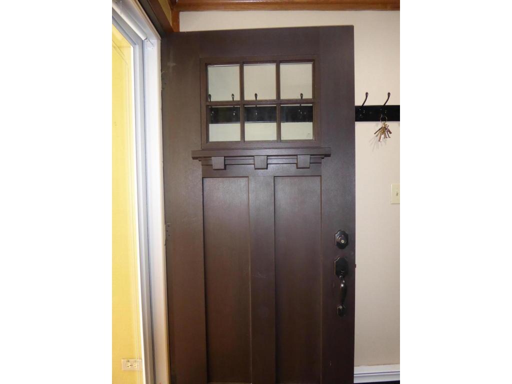 Gorgeous Wood front door