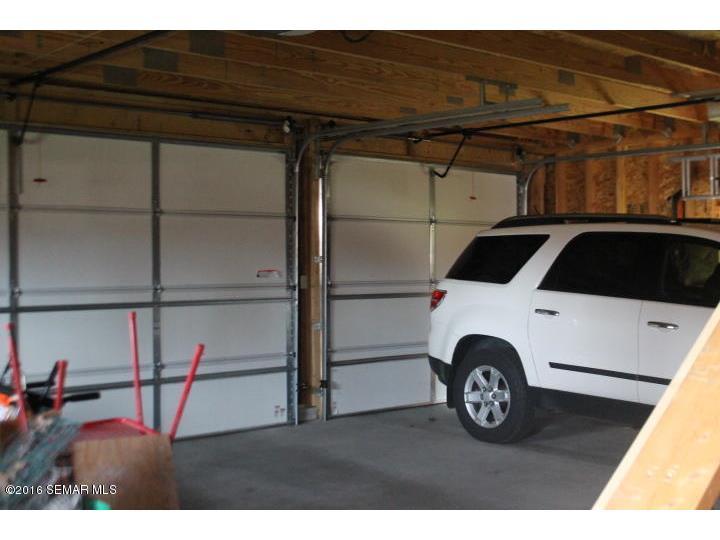 Inside Garage