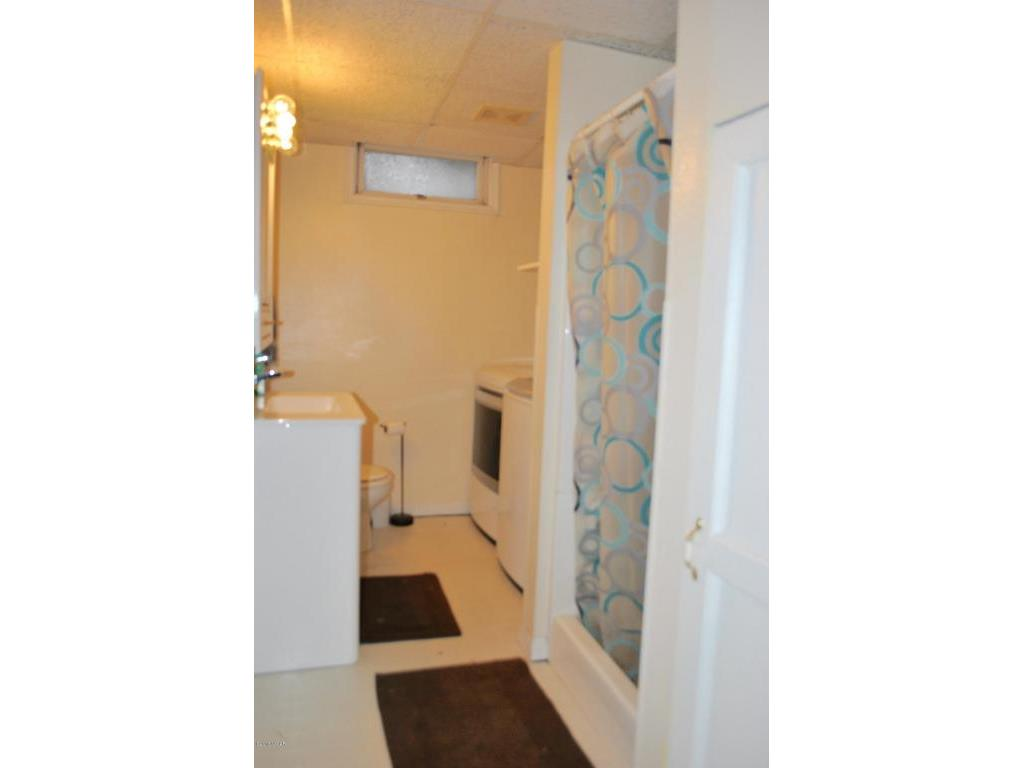 3/4 bath in basement