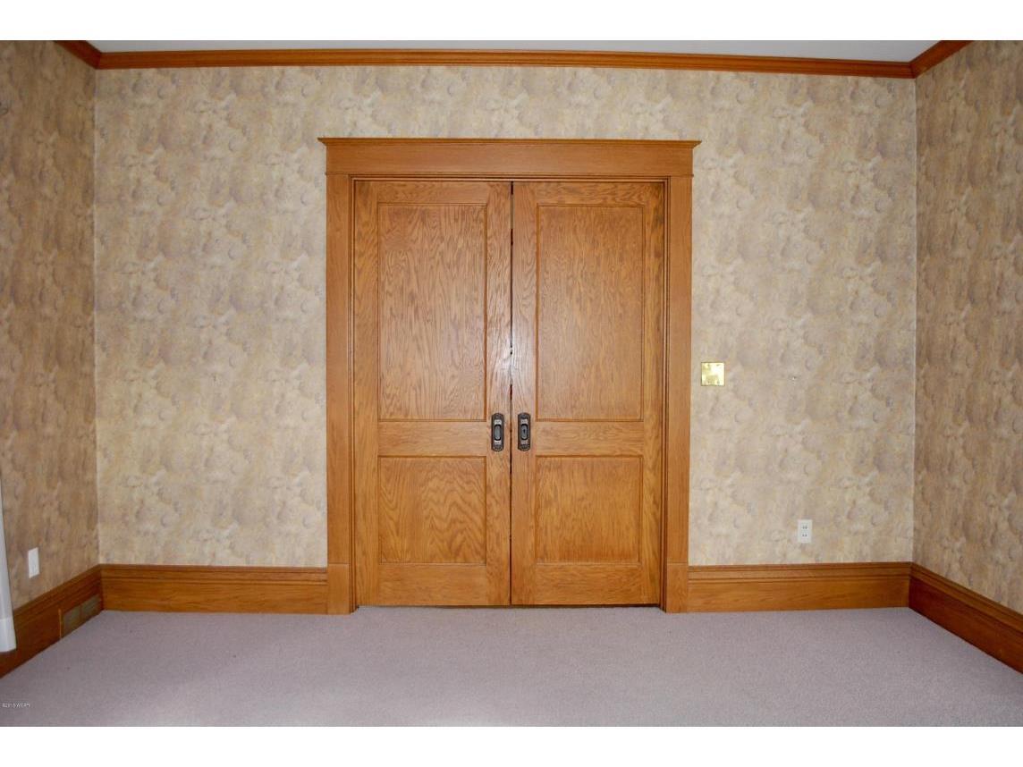 Functioning pocket doors