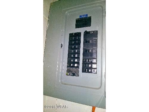Electrical breaker panel